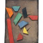 Arthur Luiz Piza, 498, Aquarela e Colagem, 11 x 8 cm