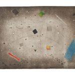 Arthur Luiz Piza, Espace em Fólie, Gravura em metal, 63 x 91 cm, Tiragem E/A.