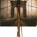 Anna Bella Geiger, Flumenpont n°2, Fotografia, encáustica, vidro, plástico e limalha, 43 x 33 cm, 2001/2005.