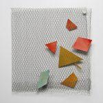 Arthur Luiz Piza, T-901, Arame galvanizado, zinco pintado em acrílica, 55 x 52 cm