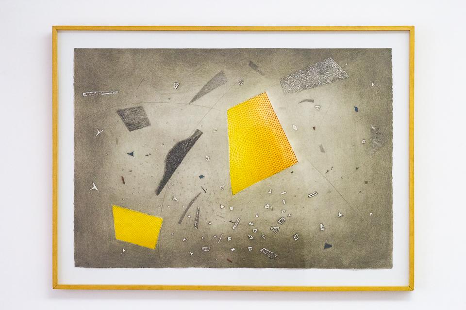 Espace Eclaté, Gravura em metal, 63,1 x 91 cm, Tiragem 9/100