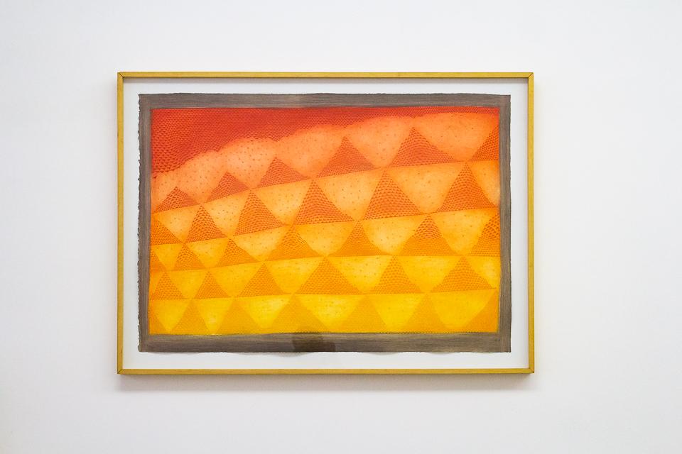 Dunes, Gravura em metal, 74,9 x 107,2 cm, Tiragem 92/99.