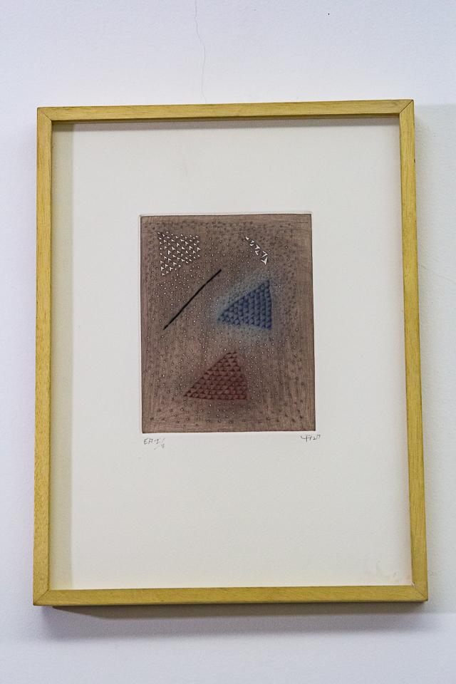 Brume, Gravura em metal, 38 x 28 cm, Tiragem 26/50