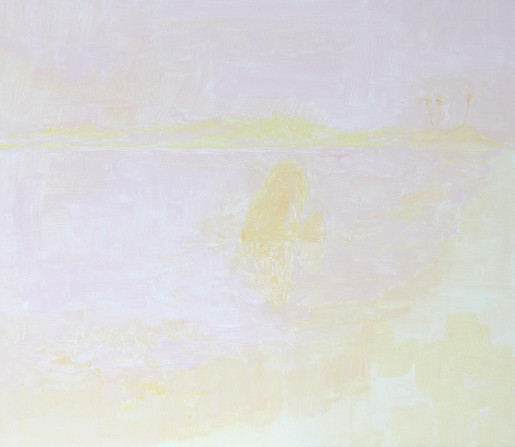 Felipe Goes, Pintura 283, Acrilica e Guache sobre tela, 52 x 60 cm, 2016.