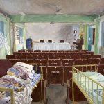 Victor Mattina, Propriedade - Série Indolor, Óleo sobre tela, 150,5 x 227,5 cm, 2016.