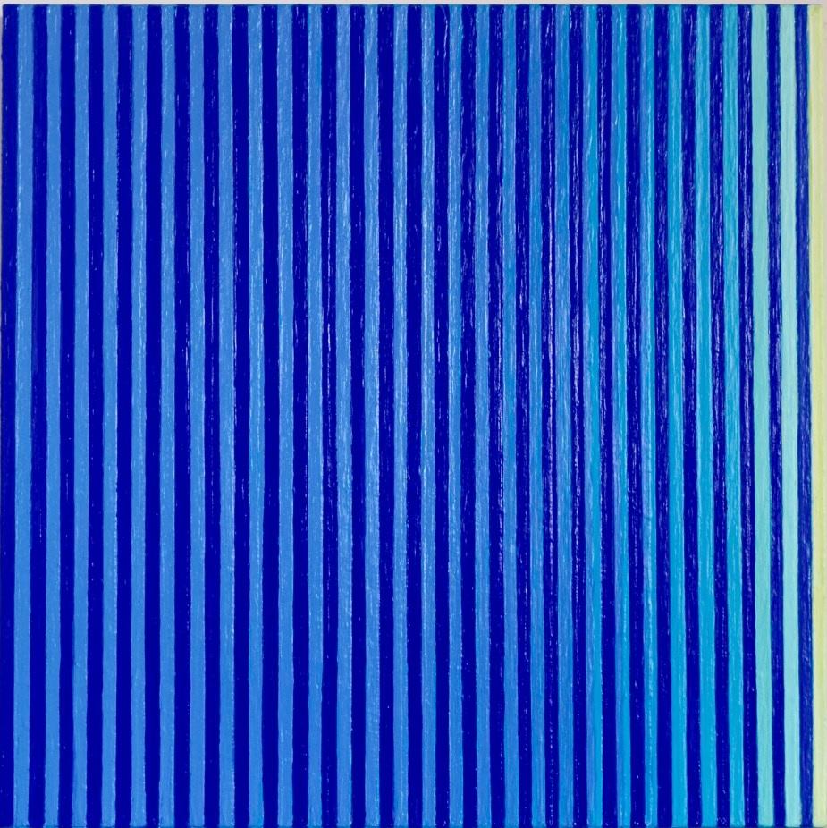 Sachikko Koshikoku, Sem titulo, Acrilica sobre tela, 50 x 50 cm, 2015.