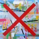 Heleno Bernardi, Sem Título, Acrílica sobre tela, 60 x 60 cm, 2016.
