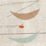Julio Villani, Anassong, Papel e oleo sobre manuscrito, 25 x 34,5 cm, 2016