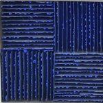 Marcos Coelho Benjamim, Quadrado, Zinco oxidado pintado, 20 x 20 cm