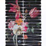 Christus Nobrega, Natureza Bela, Morta e do Lar VI - Homenagem a Maria van Oosterwijck, Impressão sobre papel dobrado em formato de avião, 125 x 90 cm