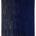 Marcos Coelho Benjamim, Retângulo, Zinco oxidado pintado, 70 x 40 cm, 2005
