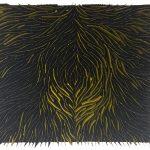 Marcos Coelho Benjamim, Quadrado, Zinco oxidado pintado, 50 x 50 x 5 cm