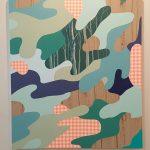 James Kudo, Sem Titulo, Acrílica sobre tela, 150 x 130 cm, 2017