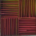 Marcos Coelho Benjamim, Quadrado, Zinco oxidado pintado, 15 x 15 cm, 2005