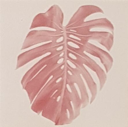 Christus Nobrega, Sudário, impressão jato de tinta com tinta feita de sangue, 14 x 14 cm, 2013