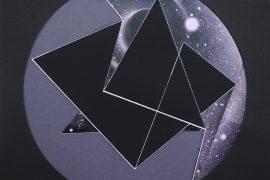 Isabelle Borges, Circle 12,COLAGEM , PAPEL SINTETICO, IMPRESSAO DIGITAL, CANETA EDDING, 50 x 50 cm, 2015