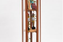 Camille Kachani, Sem Título, Técnica mista, 161 x 48 x 64 cm, 2016