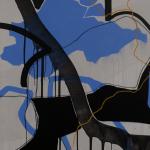 Juliana Gontijo, Nordeste, Acrílica e Pastel Oleoso sobre tela com chassi de aluminio, 101 x 150 cm, 2019
