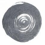 Luca Benites, Un pequeño homenaje a Anish Kapoor III, Cinzas queimadas sobre papel Hahnnemühle 300gr, 58 x 39 cm, 2018