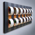 Robson Macedo, Corrente, Formica, pvc, pet e espelho sobre madeira, 110 x 81 x 15 cm, 2018