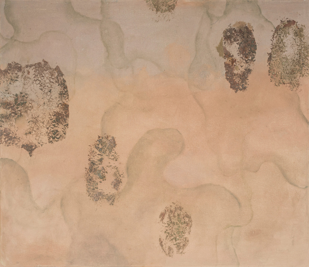 Corina Ishikura, Série Alpha VII, Encáustica fria 60 x 80 cm, 208