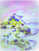 Corina Ishikura, Série Nihon, Encáustica Fria, 33 x 25 cm, 2017