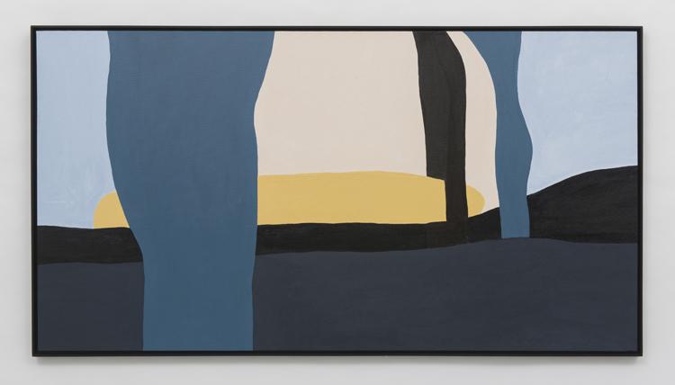 Arlete Kalaigian, Apego, Acrílica sobre tela, 40 x 80 cm, 2019