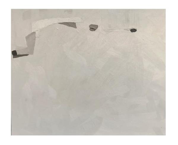 Kika Goldstein, Tonal, Óleo e cera de abelha sobre tela, 50 x 60 cm, 2019