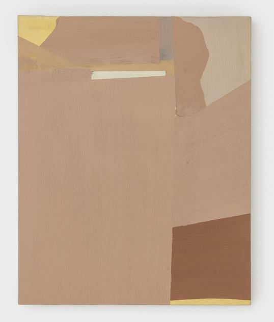 Sueli Espicalquis, Sem Título, Óleo e cera sobre linho, 50 x 40 cm, 2019