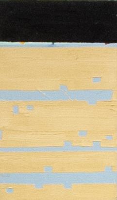 Sueli Espicalquis, Sem Título, Óleo e cera sobre linho, 30 x 20 cm, 2019