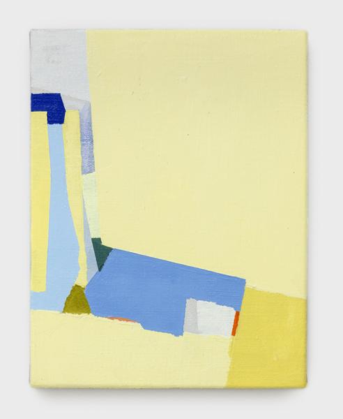 Sueli Espicalquis, Sem Título, Óleo e cera sobre linho, 33 x 23 cm, 2019