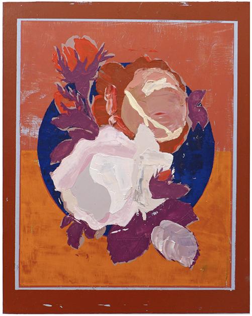 Diana Motta, Sem Título, Óleo sobre tela, 40 x 50 cm, 2018