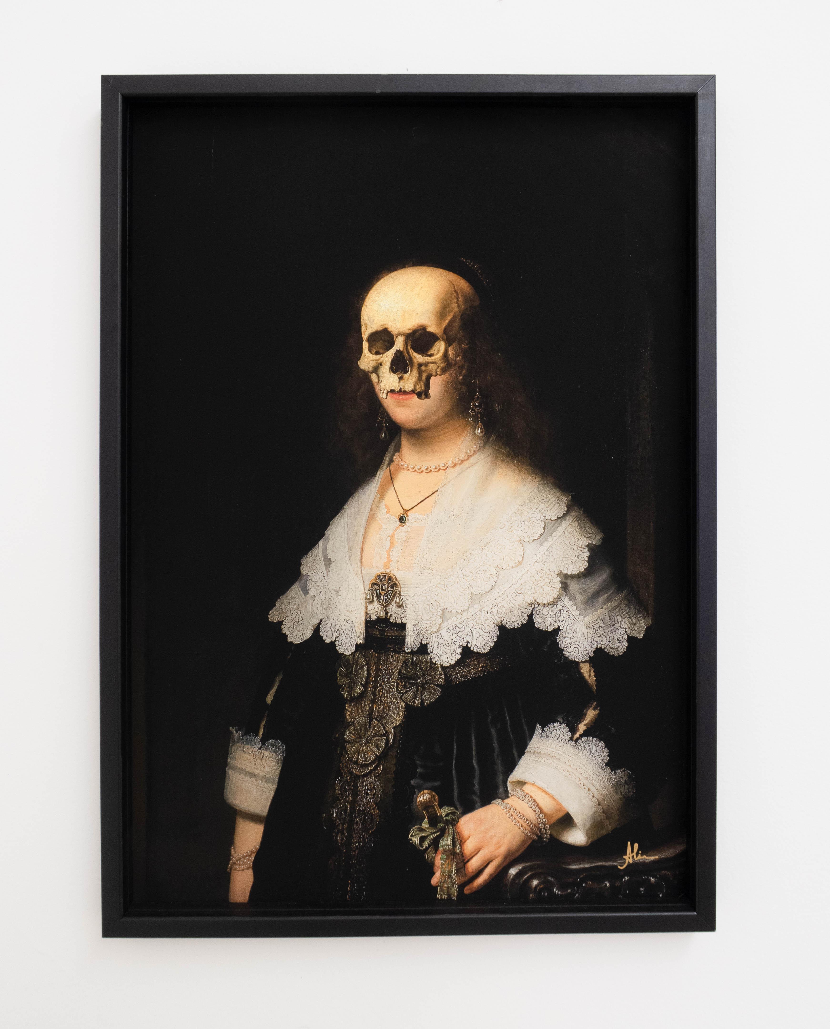 Aline Chaves, Sem Título, Colagem digital impressa em papel Canson Performance 240g, 59,4 x 42 cm, 2019