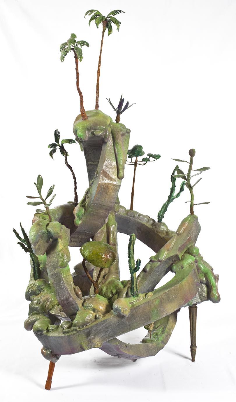 Morro do Polke – Série Móveis Paisagens, Técnica Mista, 162 x 95 cm, 2011