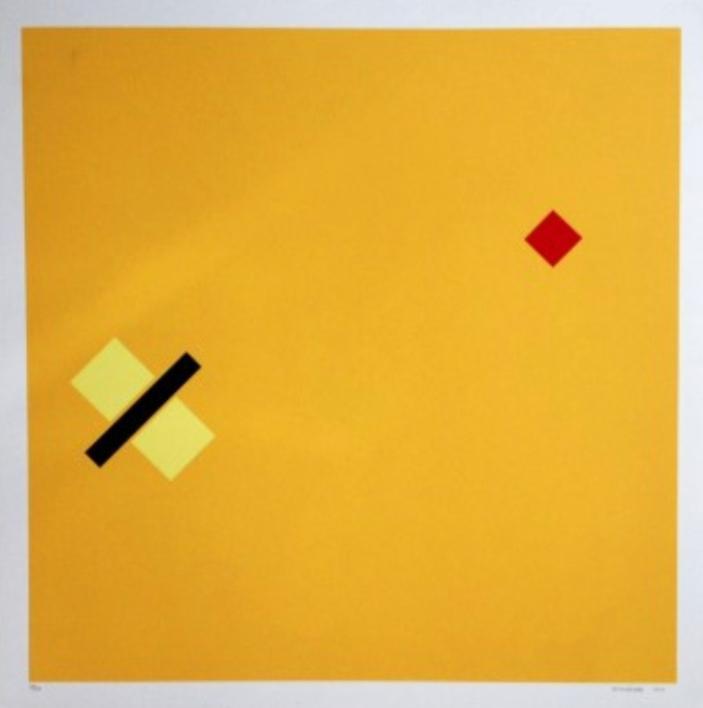 Almandrade, Sem Título, Gravura, 66 x 66 cm, 2012, Edição 13 de 100